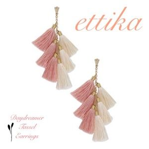Ettika Daydreamer Tassel Earrings